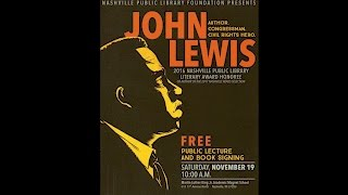 Nashville Public Library Literary Award Honoree 2016-John Lewis