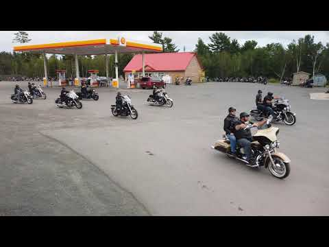 Ride For Donnie 2019 - Memorial For 4 Fallen Citizens Of Fredericton NB Canada