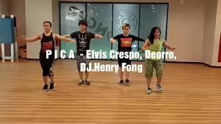 Pica - Elvis Crespo, Deorro, DJ.Henry Fong Diah Mutiara Inayati Zumba(R) Dance Fitness ...