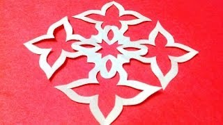 How to make KIRIGAMI paper cutting patterns and templates - 10