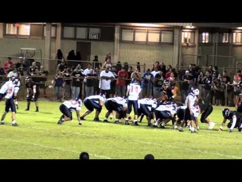 (1 of 2) #6 Waianae at #8 Campbell 9/13/13