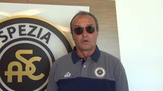 Mister Marino alla vigilia della sfida di Coppa Italia Spezia-SPAL