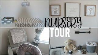 BABY BOY NURSERY TOUR 2018! | NEUTRAL GRAY & WHITE
