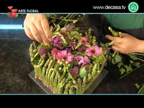 Arte floral c mo hacer una composici n de esp rragos para - Frutas artificiales para decoracion ...
