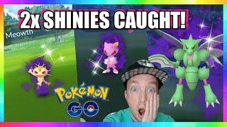 2x SHINIES CAUGHT! NEW TEAM ROCKET LEADER BATTLES - NEW SHADOW SHINIES in Pokemon Go!