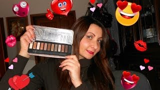 the dupe of naked 2 w7 in the buff palette recensione tutorial make up semplice