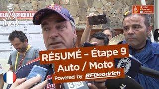 Résumé - Auto/Moto - Étape 9 (Tupiza / Salta) - Dakar 2018
