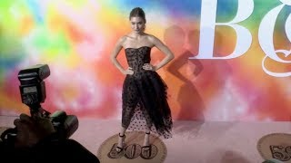 Grace Elizabeth on the red carpet for the BoF 500 Gala in New York City