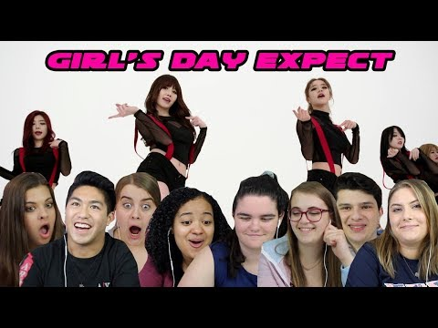 GIRL'S DAY EXPECT REACTION (S3 EP.6)