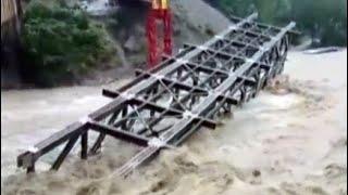 In Uttarakhand, Under-Construction Bridge Washed Away Amid Heavy Rain
