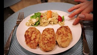 DELICIOUS Chicken Patties 🍗 Relaxing Cooking Video 🍗 ASM…