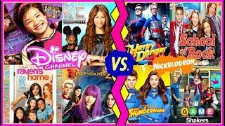 Disney Channel Stars VS Nickelodeon Stars Musical.ly Battle | Famous Celebrity Kids Musically