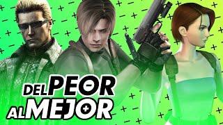 Resident Evil: Del Peor al Mejor