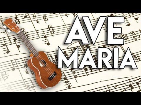 Ave Maria - Shubert -  Ukulele - Melodia