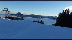 Ofterschwang Ski -  komplette Ski Abfahrt Ofterschwang im ALlgäu