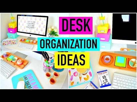 Desk Organization Ideas Diy Decor