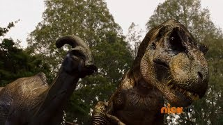 "Power Rangers Dino Charge - Dinosaurs Extinction | Episode 1 ""Powers From the Past"""