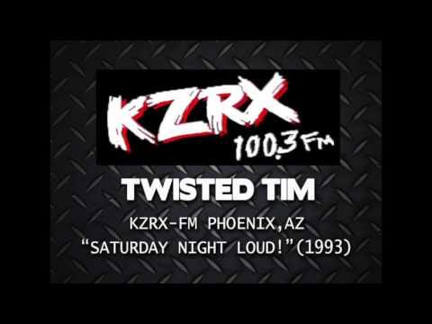Twisted Tim on KZRX