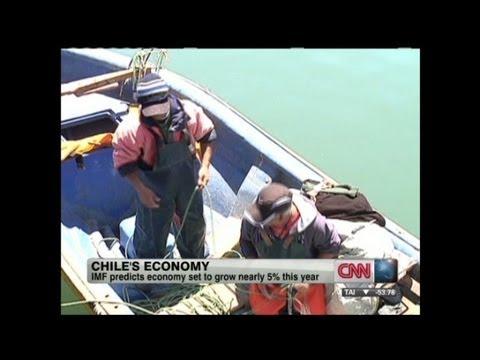President of Chile talks economy