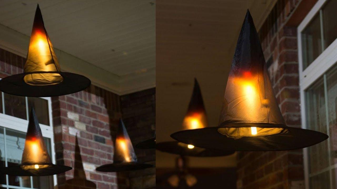 DIY A Halloween Witch Decorations Idea