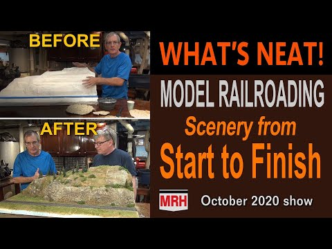 Scenery from start to finish | October 2020 WHATS NEAT Model Railroad Hobbyist