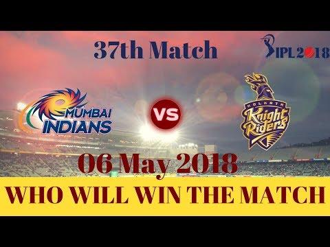 37th Match   MI vs KKR IPL 2018   Mumbai Indians vs Kolkata Knight Riders   मुम्बई vs कोलकाता thumbnail