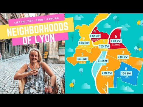 WHICH NEIGHBORHOOD IN LYON? 🏡 🤷♀️🤷♀️   Explore the Arrondissements of Lyon