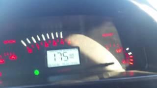 ВАЗ 21106 на трассе.