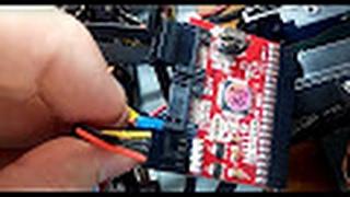 подключение Конвертера двунаправленного IDE-SATA Converter Board к Жесткому Диску Samsung 80 GB HDD