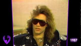 "Bon Jovi: On Being a ""Sex Symbol"" (Interview - 1987)"