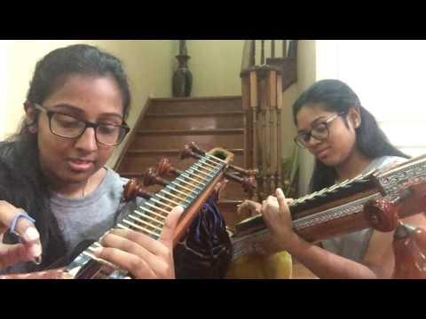 Neruppu Da BGM- Kabali | Veena Cover | Veena Thambaps