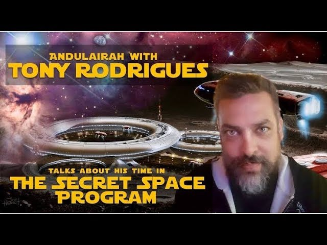 PART 1: Interview With TONY RODRIGUES: 20 Years A Slave: SECRET SPACE PROGRAM