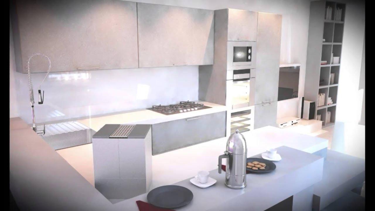 Soggiorno cucina open space moderno idee per il design for Cucina open space