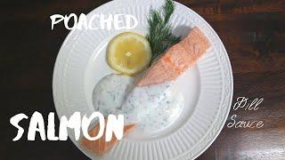 포치드 연어 Poached Salmon /이런 연어요리…