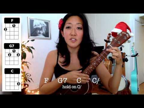 Feliz Navidad // Holiday Ukulele Tutorial