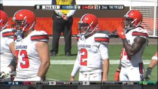 Johnny Manziel vs. Titans FULL HIGHLIGHTS