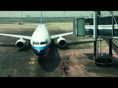 Boeing 737-800 China Southern Serving Dhaka Daily @ Noon