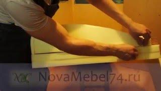 8 Поролон на сидіння. Як зробити диван Єврокнижка своїми руками.