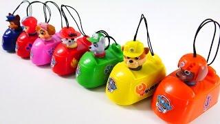 Щенячий патруль и инерционные машинки. Новые игрушки. Видео для детей
