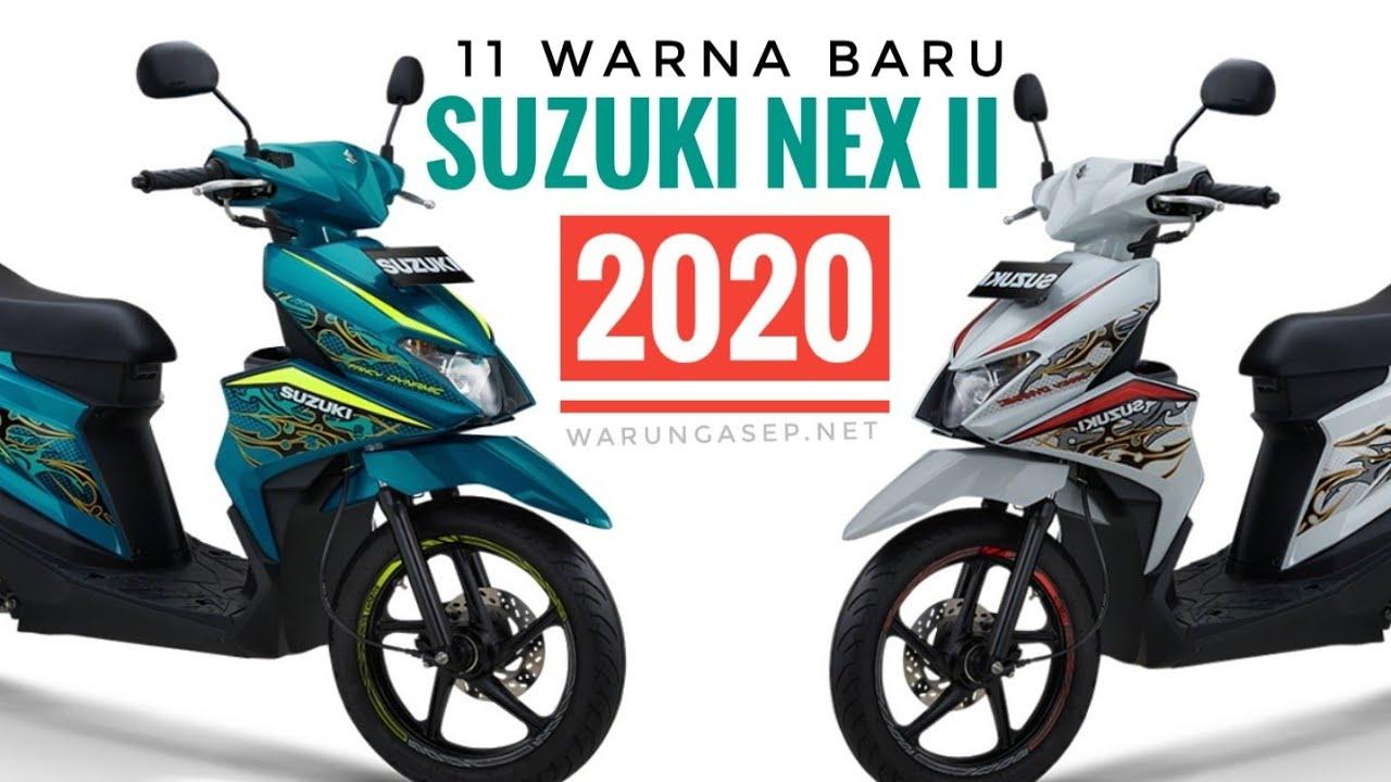11 Warna Suzuki Nex Ii 2020 Galeri Foto Fitur Spesifikasi Dan