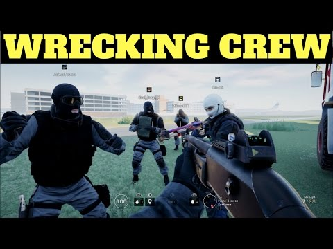 Wrecking Crew! - Rainbow Six Siege (Dream Team #58) |