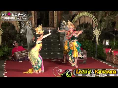 Legong & Ramayana Dances in Ubud Palace, Ubud - Bali | Pt. Hiro Chan Tour & Travel