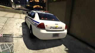 GTA 5 - Testing - 2014 LSPD Chevrolet Impala PPV!