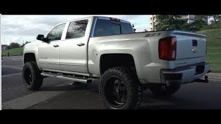 2016 Chevy Silverado Lifted 9 Inches On 22x12 American Force Wheels And 35 Inch Tires!