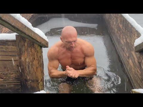 Погружения в ледяную воду. Как не напрягаться и получать пользу и кайф. Метод  дыхания Вима Хофа.