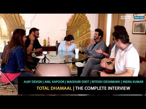 Ajay, Anil, Madhuri, Riteish, Indra | Total Dhamaal | The Complete Interview