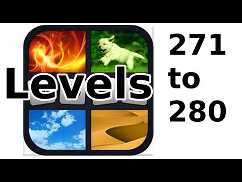 4 Pics 1 Word - Level 271 to 280 - Walkthrough