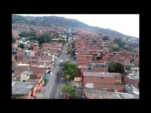 Santo Domingo Metro Cable in Medellin