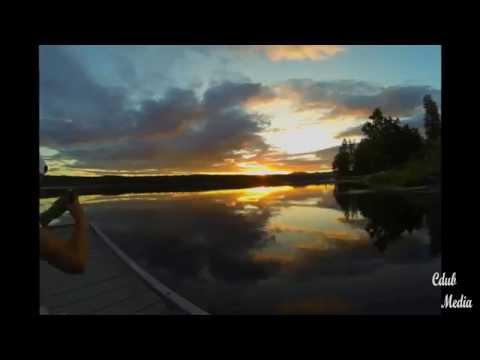 Eloika Lake Sunset