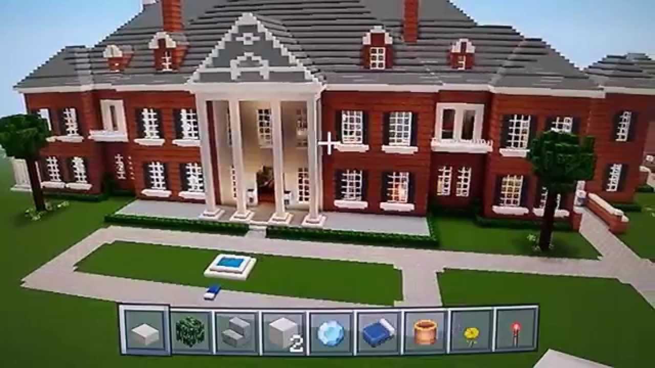 Huge Minecraft Mega Mansion Tour Epic Pt 4 Youtube